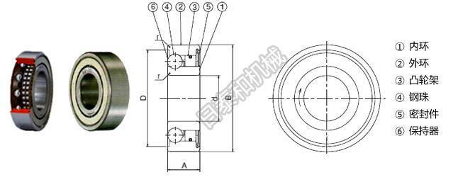 单向离合器和轴承